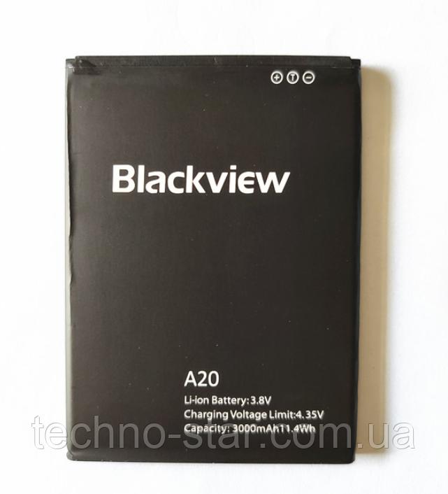 Оригинальный аккумулятор ( АКБ / батарея ) для Blackview A20 3000mAh