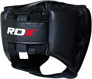 Боксерский шлем тренировочный RDX Red, фото 2