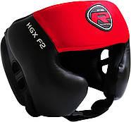 Боксерский шлем тренировочный RDX Red, фото 3