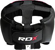 Боксерский шлем тренировочный RDX Red, фото 4