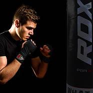 Боксерский мешок RDX Leather Black, фото 6