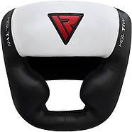 Боксерский шлем с защитой подбородка RDX WB, фото 4