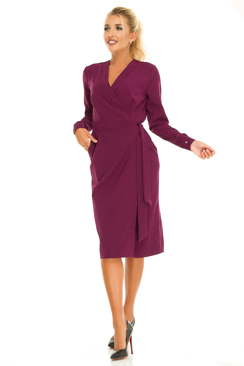 Платье 612 фуксия размер 44