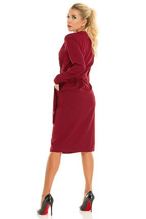 Платье 612 бордо, фото 2