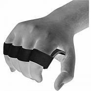 Накладки для подтягивания RDX Leather Black, фото 4