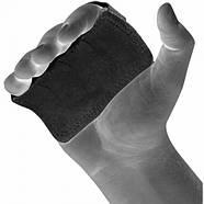 Накладки для подтягивания RDX Leather Black, фото 5