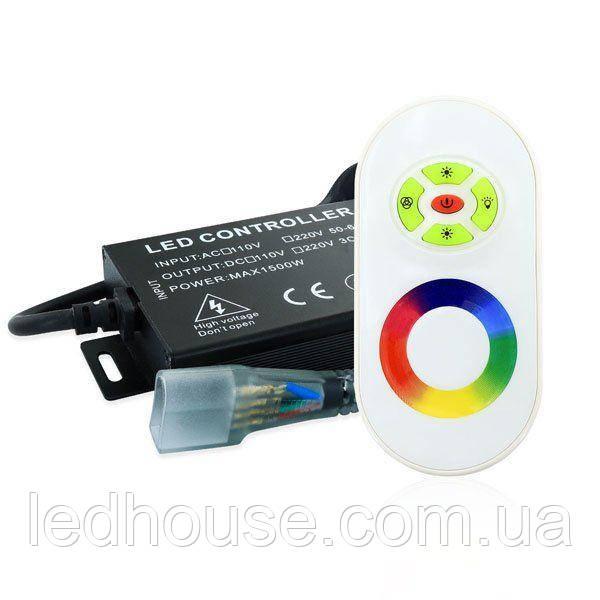 Контроллер RGB Neon 220B 1200W-RF5-N