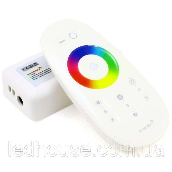 Контроллер RGBW OEM 24А-2.4G-Touch белый (6A*4канала)