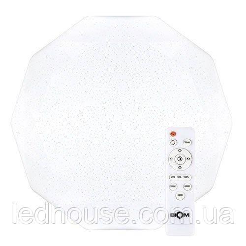 Светильник светодиодный Biom SMART SML-R05-80 3000-6000K 80Вт с д/у