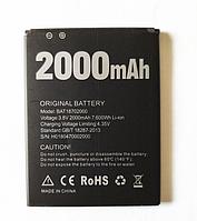 Оригинальный аккумулятор ( АКБ / батарея ) BAT18702000 для Doogee X50 2000mAh