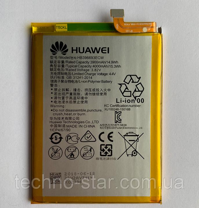 Оригинальный аккумулятор ( АКБ / батарея ) HB396693ECW для Huawei Mate 8 4000mAh
