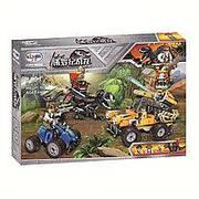 Конструктор Winner 1381 (аналог Lego Jurassic World), 440 дет.