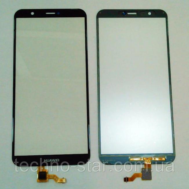 Оригинальный тачскрин / сенсор (сенсорное стекло) для Huawei P Smart | Enjoy 7S | FIG-LX1 | FIG-LX2 (синий)