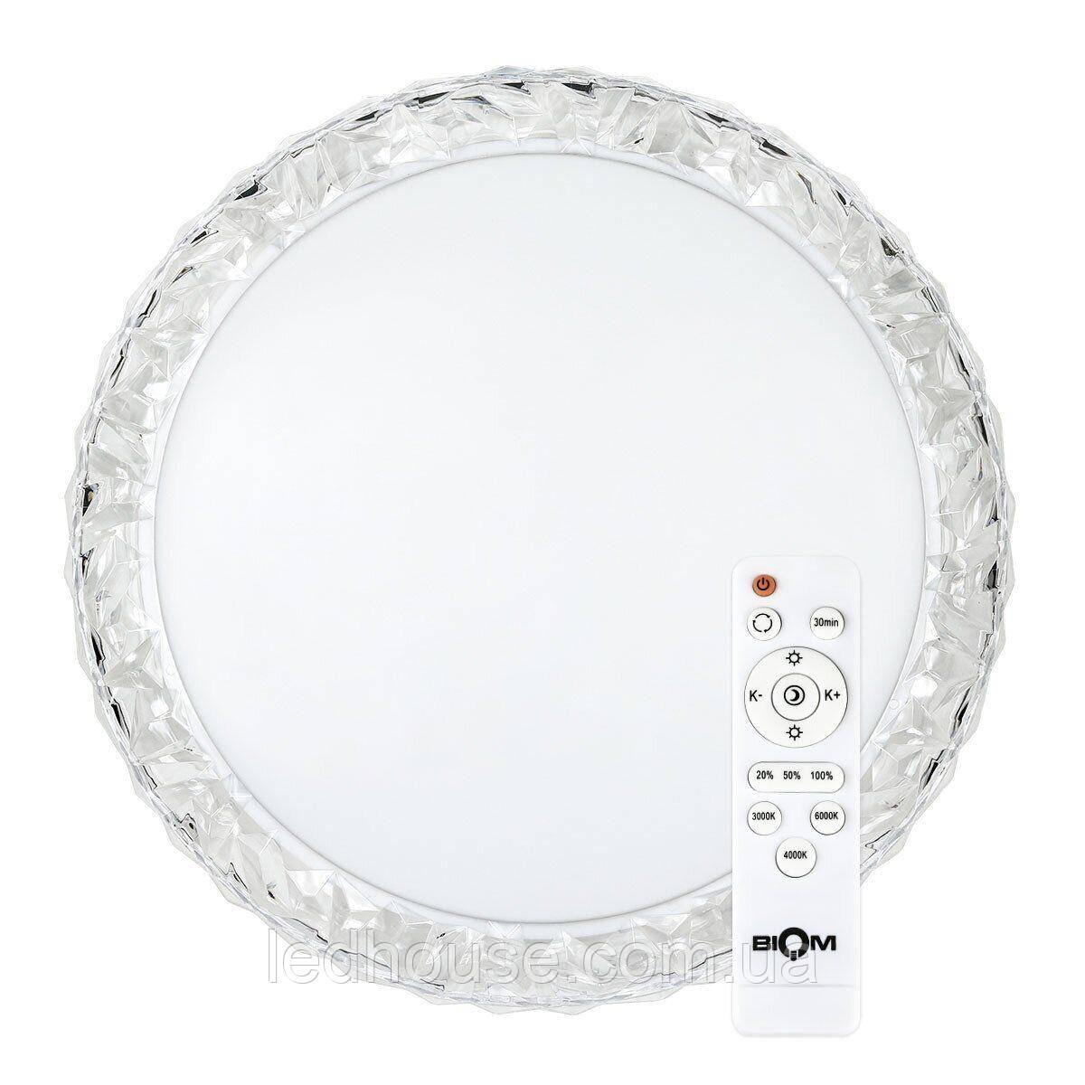 Светильник светодиодный Biom SMART SML-R09-80 3000-6000K 80Вт с д/у