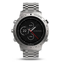 Смарт-часы Garmin Fenix Chronos - Steel with Brushed Stainless Steel Watch Band, фото 1