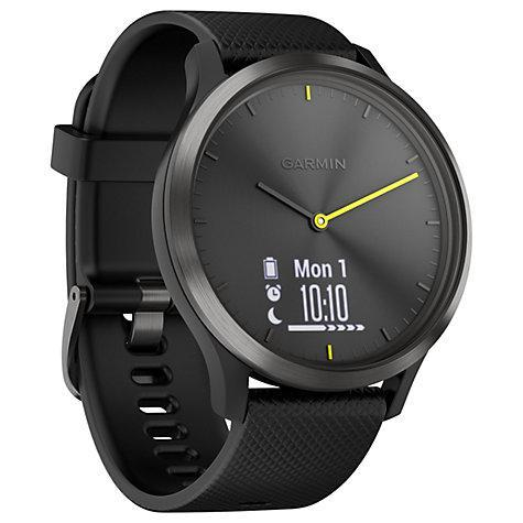 Фитнес часы Garmin Vivomove HR, E EU, Sport, Black-Black, L