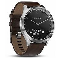 Фитнес часы Garmin Vivomove HR, E EU, Premium, Black-Silver, L, фото 1
