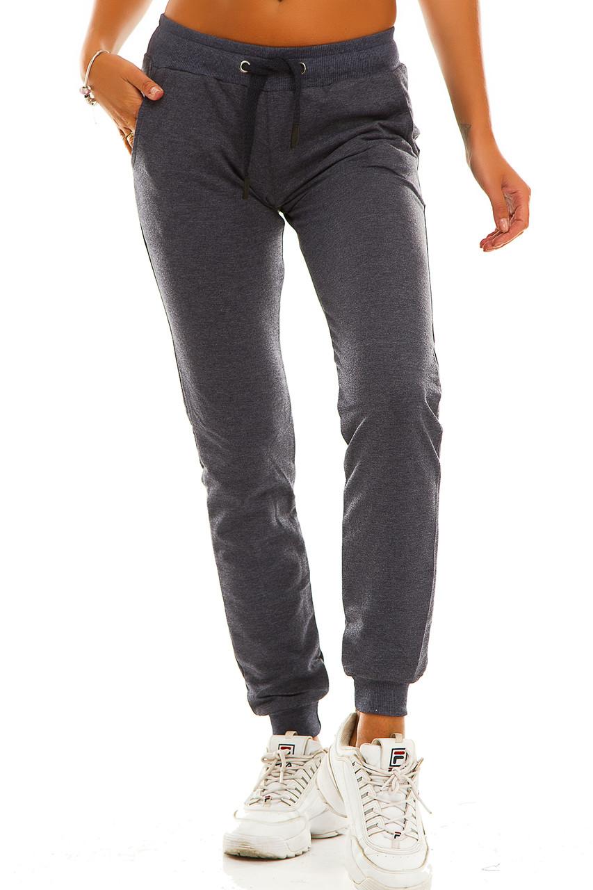 Женские спортивные штаны 406  джинс