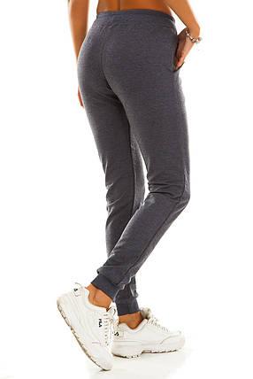 Женские спортивные штаны 406  джинс, фото 2