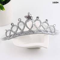 Повязка-корона для девочки. 38-44 см