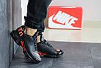 Мужские кроссовки Nike Air Max Tn (черно-оранжевые), фото 2