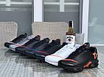 Мужские кроссовки Nike Air Max Tn (черно-оранжевые), фото 5