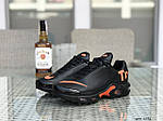 Мужские кроссовки Nike Air Max Tn (черно-оранжевые), фото 6