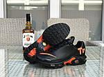 Мужские кроссовки Nike Air Max Tn (черно-оранжевые), фото 7