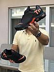 Мужские кроссовки Nike Air Max Tn (черно-оранжевые), фото 8
