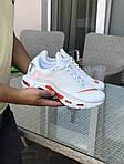 Чоловічі кросівки Nike Air Max Tn (білі), фото 6