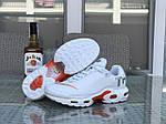 Чоловічі кросівки Nike Air Max Tn (білі), фото 8
