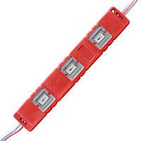 Светодиодный модуль SMD5730-3*0.5W, red, 12В, IP65, фото 1