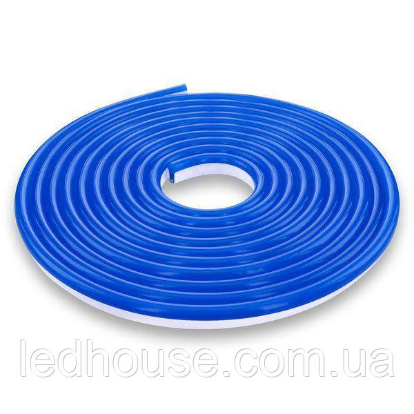 Светодиодный NEON 220В 2835-120 B IP65 синий, герметичная, 1м