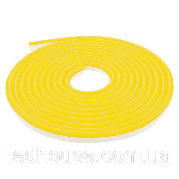 Светодиодный NEON 220В 2835-120 Y IP65 желтый, герметичная, 1м