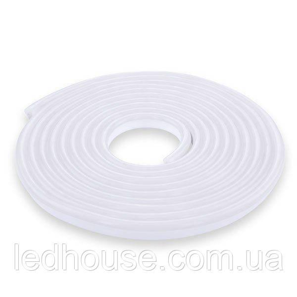 Світлодіодна стрічка NEON 12В 2835-120 WW IP67 теплий білий, герметична, 1м