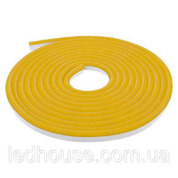 Светодиодный NEON 220В 2835-120 A IP65 золотой, герметичная, 1м