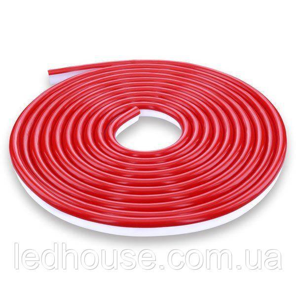 Светодиодный NEON 220В 2835-120 R IP65 красный, герметичная, 1м