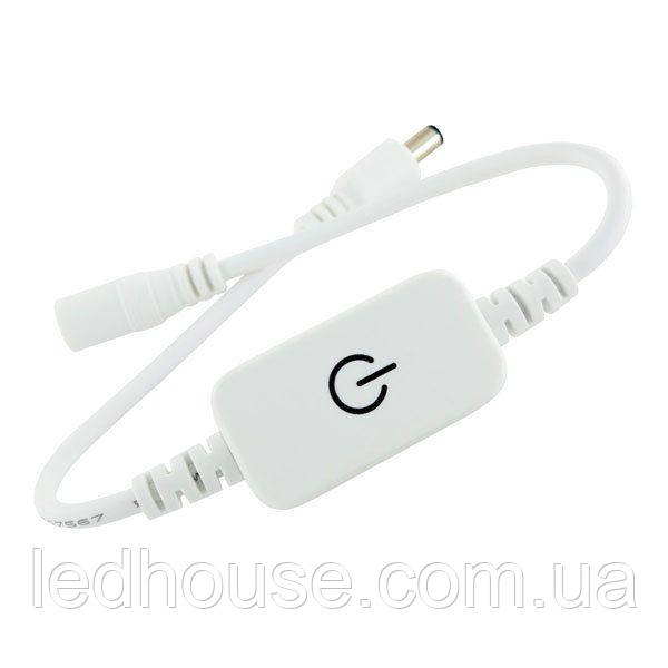 Диммер OEM 6A M-T71 Touch White 1 канал