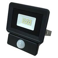 Светодиодный прожектор OEM 10W S4-SMD-10-Slim+Sensor 6500К 220V IP65 с
