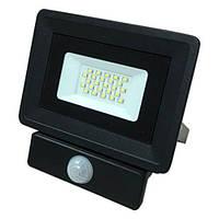 Светодиодный прожектор OEM 20W S4-SMD-20-Slim+Sensor 6500К 220V IP65, фото 1