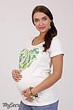 Очень комфортная футболка для беременных Lillit leaves LS-28.101  (s), фото 2