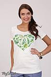 Очень комфортная футболка для беременных Lillit leaves LS-28.101  (s), фото 5