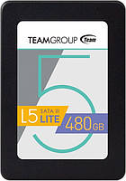 """Накопитель SSD 480GB Team L5 LITE 2.5"""" SATAIII TLC (T2535T480G0C101)"""