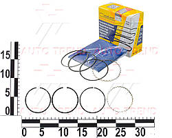 Кольца поршневые DAEWOO MATIZ 0.8 STD комплект (MAR-MOT). 3.0276.00.03
