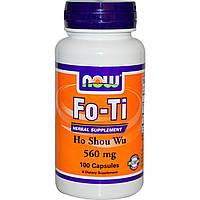 Горец многоцветковый Now Foods 560 мг 100 капсул