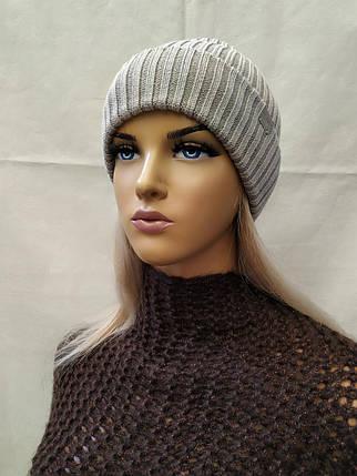 Молодежная шапка  Майкл ODYSSEY 44200 серебро, фото 2