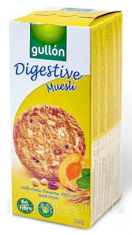Печенье овсяное  Gullon Digestive Muesli  , 365 гр