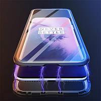 Magnetic case Full Glass 360 (магнитный чехол) дляOneplus 7 Pro