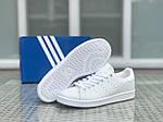 Жіночі кросівки Adidas Stan Smith (білі), фото 3