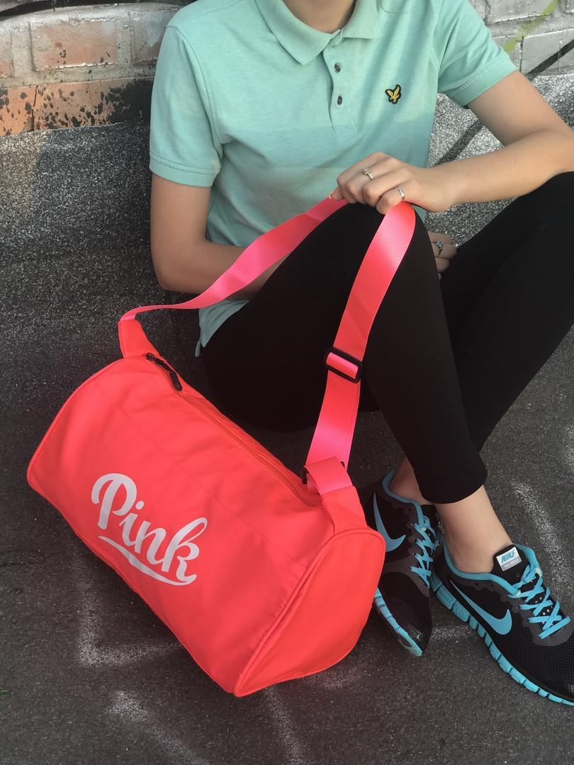 Женская спортивная сумка Pink (красная)